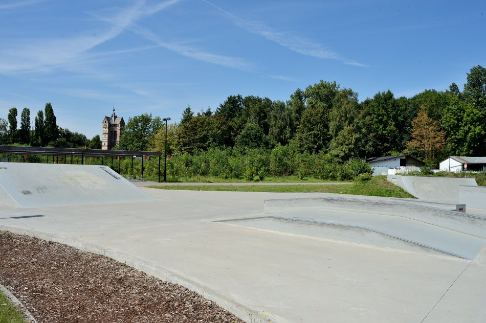 Rotselaar Sportoase De Toren skatepark