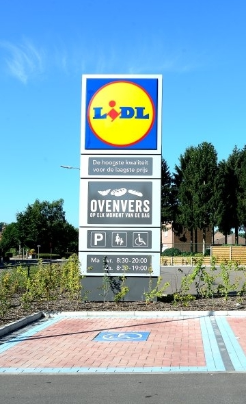 As Lidl parking